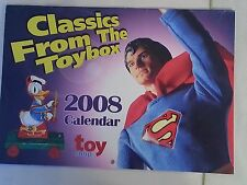 2008 Toy Shop Calendar / Classics From the Toybox Unused