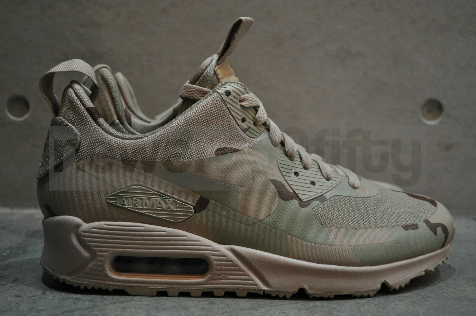 chaussures de sport d16b0 52f39 Details about Nike Air Max 90 Camo Sneakerboot MC SP 'USA' -  Desert/Desert-Desert