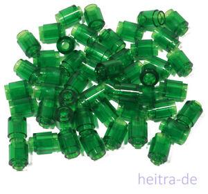 LEGO-50-x-Rundstein-1x1-transparent-gruen-Rundsteine-3062b-NEUWARE-L9