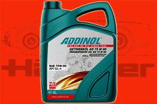 4 Liter Kanister (1L=5,70 €) Addinol Getriebeöl GS 75 W 90 teilsynthetisch GL-4