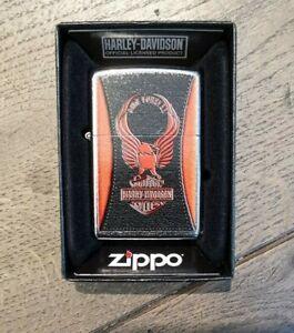 Zippo-Harley-Davidson-Feuerzeug-Lighter-Sturmfeuerzeug-Ride-Forever-60-000-480