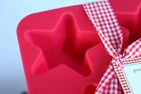 Pottery Barn Star Silicone Tray/mold Make Soap/candles/ice Cubes - Buy More Save
