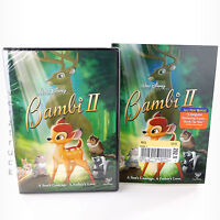 Disney Bambi Ii Dvd Sealed 2006 Slip Cover Buena Vista Home Entertainment