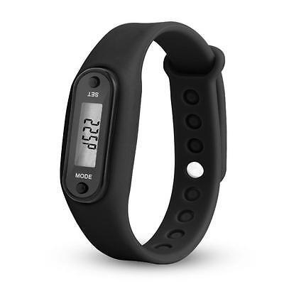 COURSE étape MARCHE Montre Bracelet Podomètre Compteur de calories LCD Distance