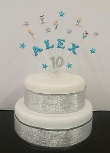Image Is Loading Gymnastics Gym Birthday Cake Topper Personalised Any Name