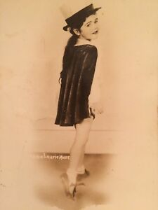 RPPC-Annie-Laurie-Moore-Child-Tap-Dance-Vintage-Dancing-Real-Photo-Postcard-B7