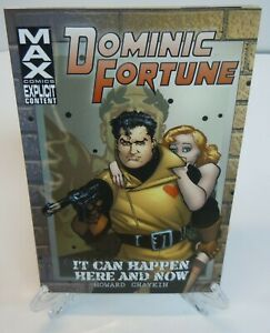 Dominic-Fortune-It-Can-Happen-Here-amp-Now-Marvel-TPB-Trade-Paperback-Brand-New