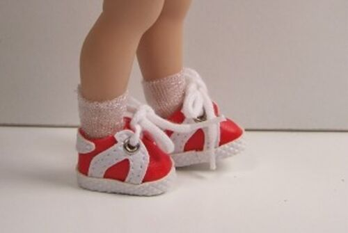 RED Sporty Tennis Doll Shoes Custom Made FOR Helen Kish RILEY /& DJ DEBs
