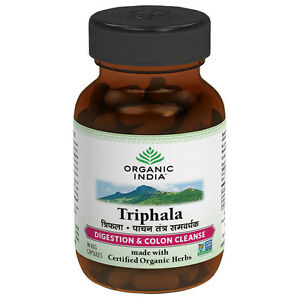 Triphala-60-Capsules-bottle-relieve-constipation-cleanse-colon-toxins-and-gas