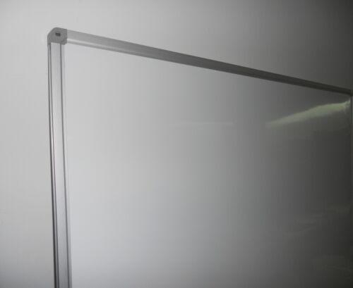 LAVAGNA BIANCA MAGNETICA LACCATA MISURA 90X60 CM Whiteboard Cornice Alluminio