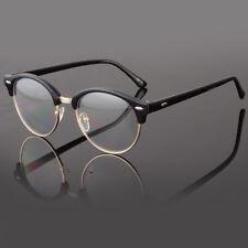 7a0cf4acba0 Clear Lens Fashion Glasses Retro Horn Rim Nerd Geek Men Women Hipster Eye  Frame