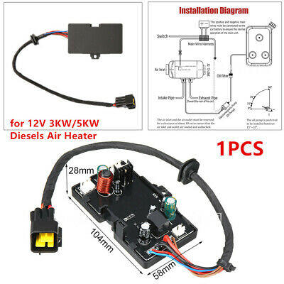 Car Heater Control Board 12V 3KW//5KW Parking Heater Control Board Air Heater Motherboard Car Replacement Accessories