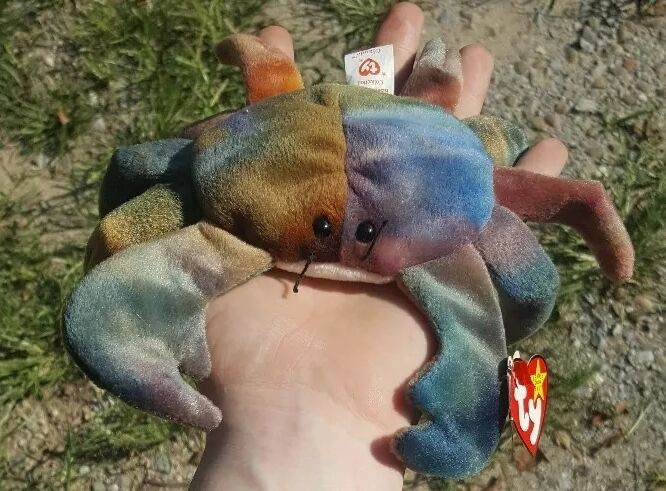 Ty beanie babies Claude the crab crab crab 434979