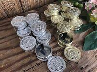 24 Containers For Baptism Favors/cajitas Para Recuerdos De Bautizo/favors Box