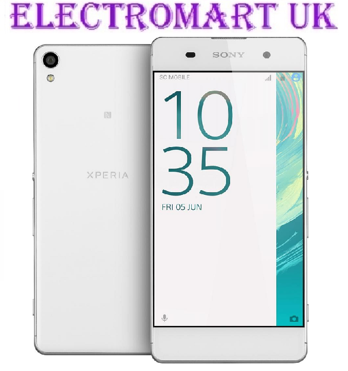 NEW SONY XPERIA XA DUMMY HANDSET DISPLAY MOBILE PHONE WHITE