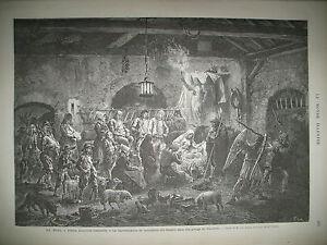 BRETAGNE-FINISTERE-COUTUME-NOEL-TOURAINE-TRAVAUX-OPERA-GARNIER-GRAVURES-1873