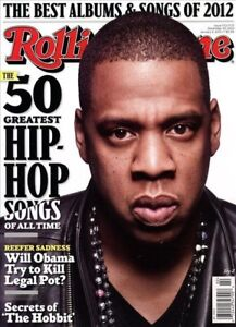 Details about Rolling Stone Magazine #1172/1173 December 20, 2012 music  Hip-Hop Songs JAY-Z