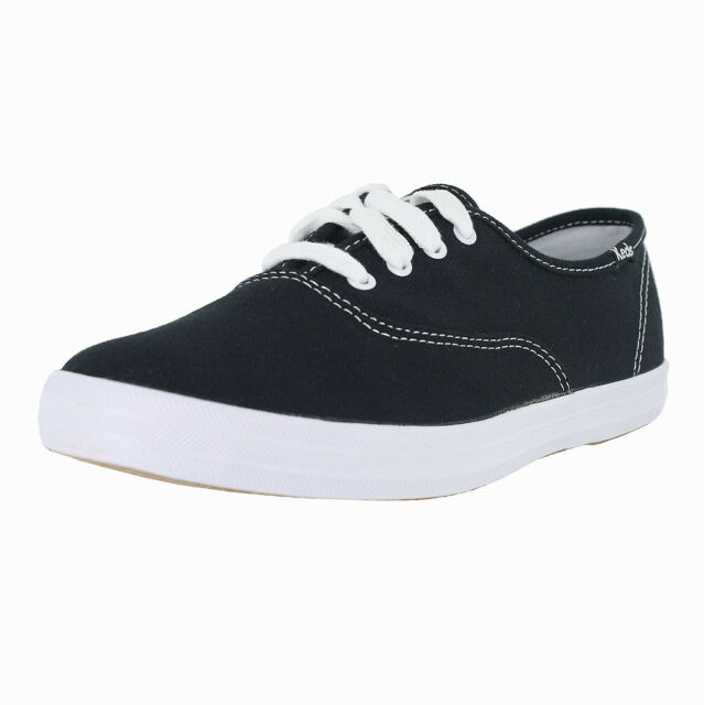 ade397cafd Keds WF34100 Women Champion Original Canvas SNEAKERS Shoes Black CHZ ...