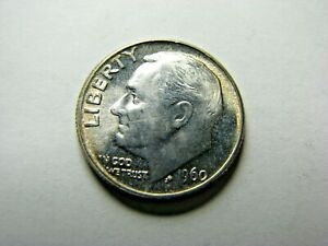 1960-Roosevelt-Dime-lt-gt-Brilliant-Uncirculated-lt-gt-Free-Shipping