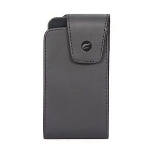 BLACK-LEATHER-CASE-COVER-BELT-HOLSTER-SWIVEL-CLIP-HOLDER-for-iPHONE-SE-5S-5C-5