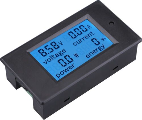 DC 6.5-100v 50A Meter Voltage Current Power Energy Combo Monitor 50A Shunt  S