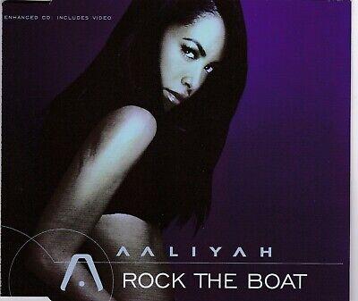 """MAXI-CD AALIYAH """"Rock The Boat"""" 2002 Orig. Single A1 ..."""