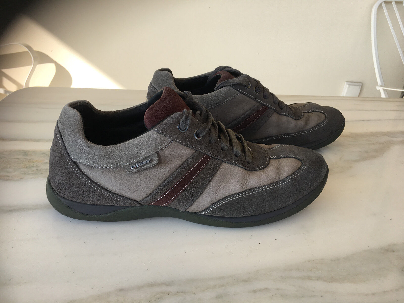 Geox respira - Gray sneaker - / US 8  /