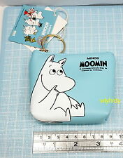 Moomin Characters Mini Coin Bag Light Blue Color