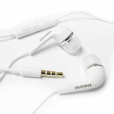 Original OEM Samsung 3.5mm Stereo Headset Earphones EHS64AVFWE With Remote & Mic