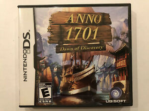 Anno-1701-Dawn-of-Discovery-Nintendo-DS-Complete-w-Case-amp-Manual