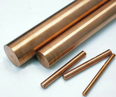2pcs Copper Beryllium Alloy C17200 Rod Cylinder Diameter 2mm, Length 500mm #E5-2
