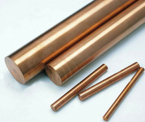 1pc Copper Beryllium Alloy C17200 Rod Cylinder Diameter 35mm Length 150mm E5 GY