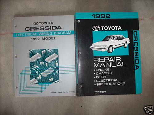 1992 Toyota Truck Service Repair Manual Set Mechanic Guide