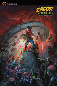 Zagor-The-Alien-Saga-2019-Paperback-GN-Nolitta-Rauch-Ferri-Rubini