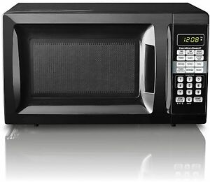 NEW Hamilton Beach 0.7 Cu Ft Microwave Oven - Child Safe Lockout 10 Power Levels
