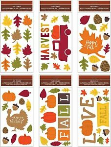 B-THERE-Bundle-of-Harvest-Fall-Thanksgiving-5-5-034-x-12-034-Window-Gel-Clings