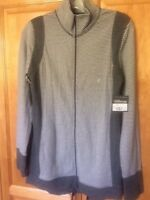 Eddie Bauer Outdoor Dual Layer Long Sleeve Jacket Striped Size S