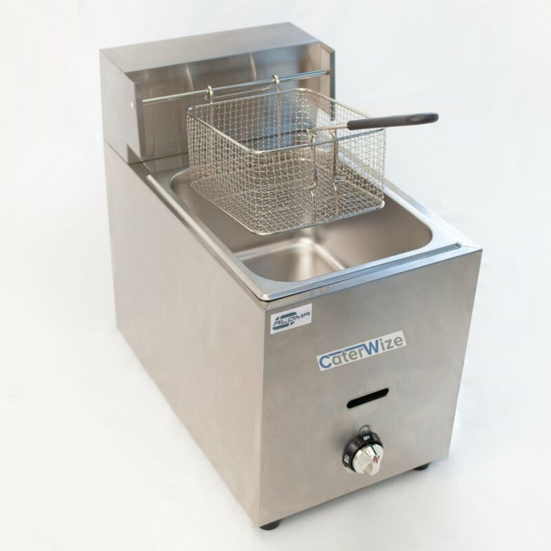 Single and Double Gas Deep Fryers - NEW!!!