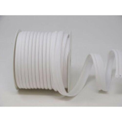 18mm Ancho Blanco Poli Algodón Con Bridas Cable de tuberías