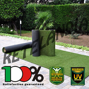 Prato sintetico erba finta artificiale NEW DECOR 20 mm tappeto verde ...