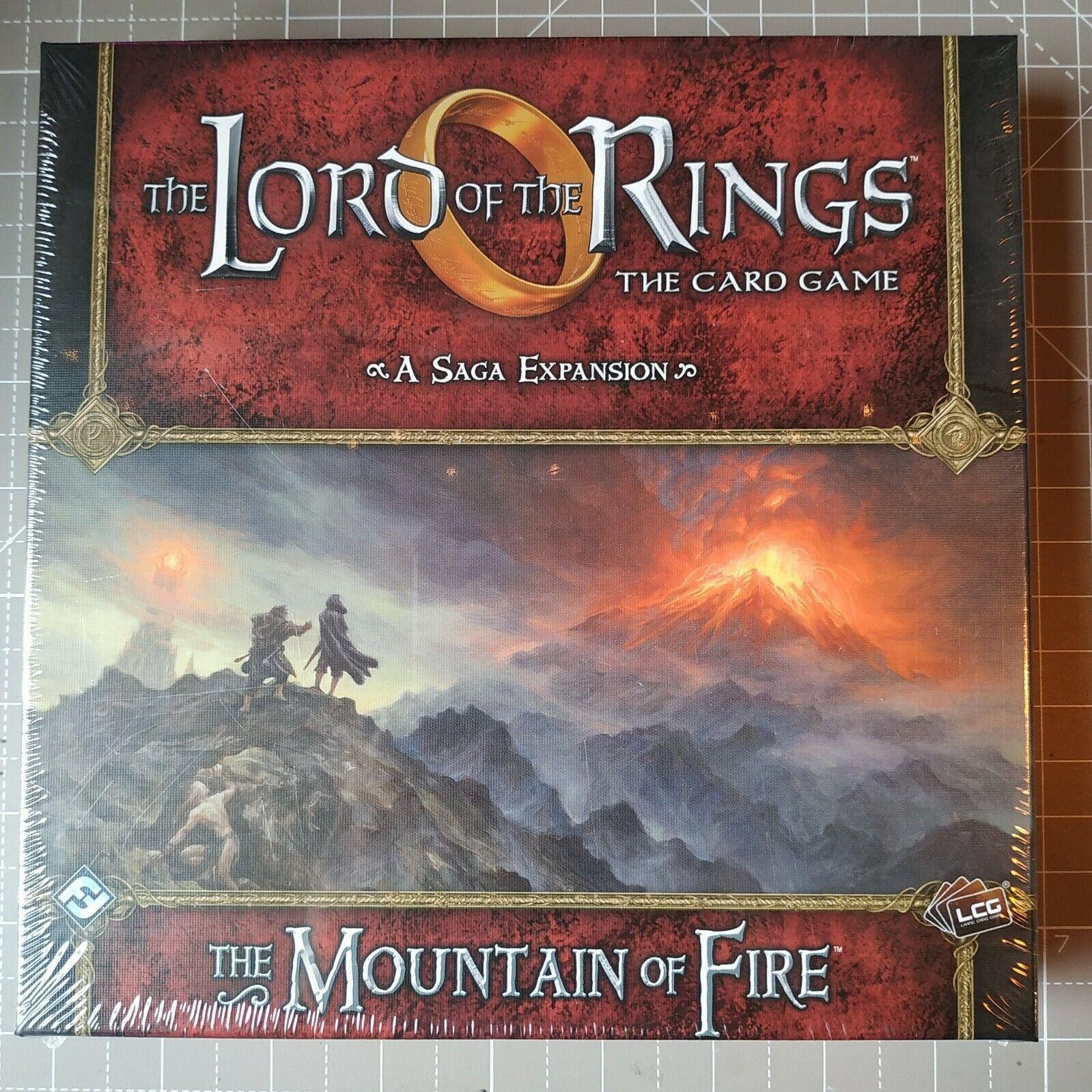 The Lord of the Rings  autod gioco LCG The Mountain of Fire Saga Expansion SEALED  grandi risparmi