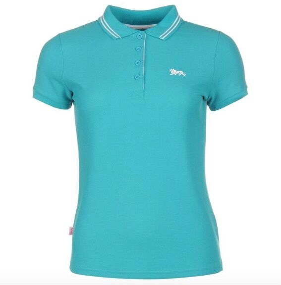 Lonsdale London Women s Polo Shirt Blue Light White All Sizes With Label L  for sale online  fef61bc2d