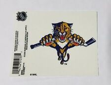 """Florida Panthers 3"""" x 4"""" Small Static Cling - Truck Car Window Decal NEW NHL"""