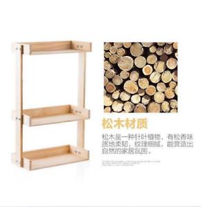 2-3-Tier-Wooden-Kitchen-Spice-Jars-Rack-Holder-Shelves-Storage-Free-Standing-NEW