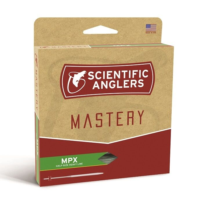 Scientific Anglers Mastery MPX Fly Line  WF7F  Coloree Willow Amber  nuovo