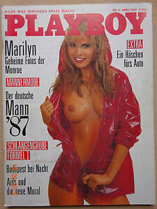 Playboy-D-4-1987-Mariyn-Monroe-Sophie-Burkamp-Isabella-Pasco-Digard-Uschi