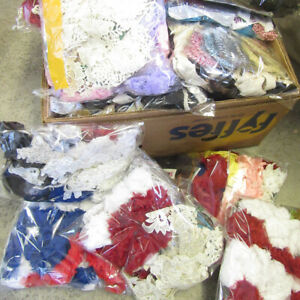 MIXED-CLEARANCE-BAG-CRAFT-STRING-CORD-LACE-OFF-CUTS-BARGAIN-MUST-GO-FAST-VALUE