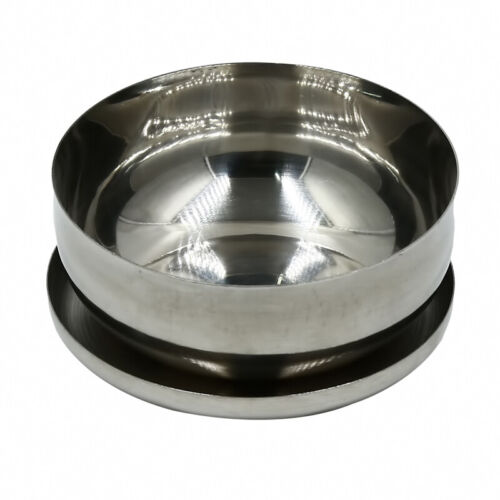 Stainless Steel Cover Small Bowls Portable Rice Ramen Container with Lid C