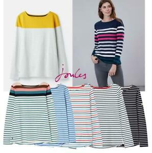 Joules-Harbour-Long-Sleeve-Jersey-Top-ALL-COLOURS