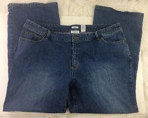 Liz-amp-Co-Women-039-s-Blue-Jeans-Plus-Size-20W